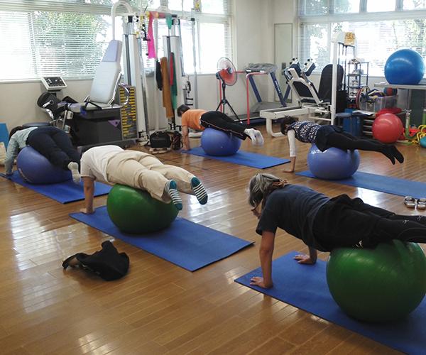 健康と運動の教室イメージ